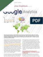 Google Analytics - eStrategy Ausgabe 3 Lammenett