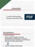 Hukum Humaniter