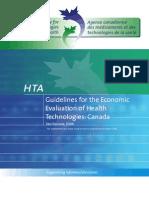 Pharmacoeconomic Guideline Canada