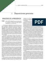REAL DECRETO 965/2006, de 1 de septiembre, por el que se modifica el Reglamento General de Circulación, aprobado por Real Decreto 1428/2003, de 21 de noviembre.