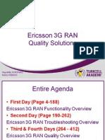 Ericsson 3G RAN Quality Solutions V1