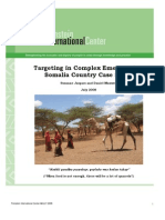 Targeting in Complex Emergencies