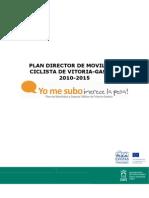 Plan Director Movilidad Ciclista 2010-2015