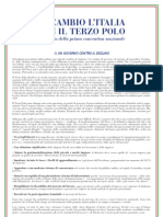 Manifesto Terzo Polo