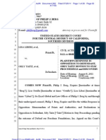 LIBERI v TAITZ (C.D. CA) - 302.0 - OPPOSITION to MOTION to Stay Case - gov.uscourts.cacd.497989.302.0