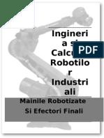 Ingineria Si Calculul Robotilor ali - Maini V5
