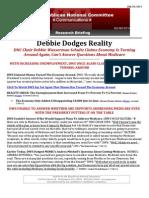 Debbie Dodges Reality