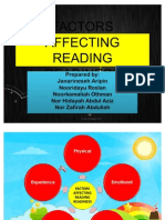 Factors Affecting Reading Readiness