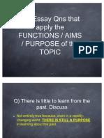 Using Functions in GP Essay