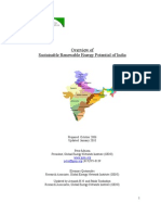 Renewable Energy Potential for India