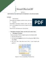 MODUL 6 Praktek Excel 2007