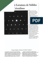 03A Estrutura de Sólidos Cristalinos