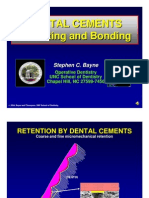 Dental Cements PPT