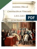 JOSE ALEJANDRO ARZOLA ISAAC  Doscientos años de constitución en venezuela