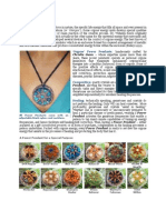 Orgone Power Pendants Brochure