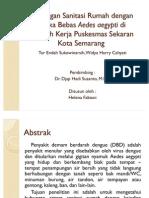 Hubungan Sanitasi Rumah Dengan Angka Bebas Aedes Aegypti