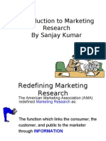 Marketing Research 2005