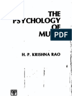 Rao, Psychology of Music