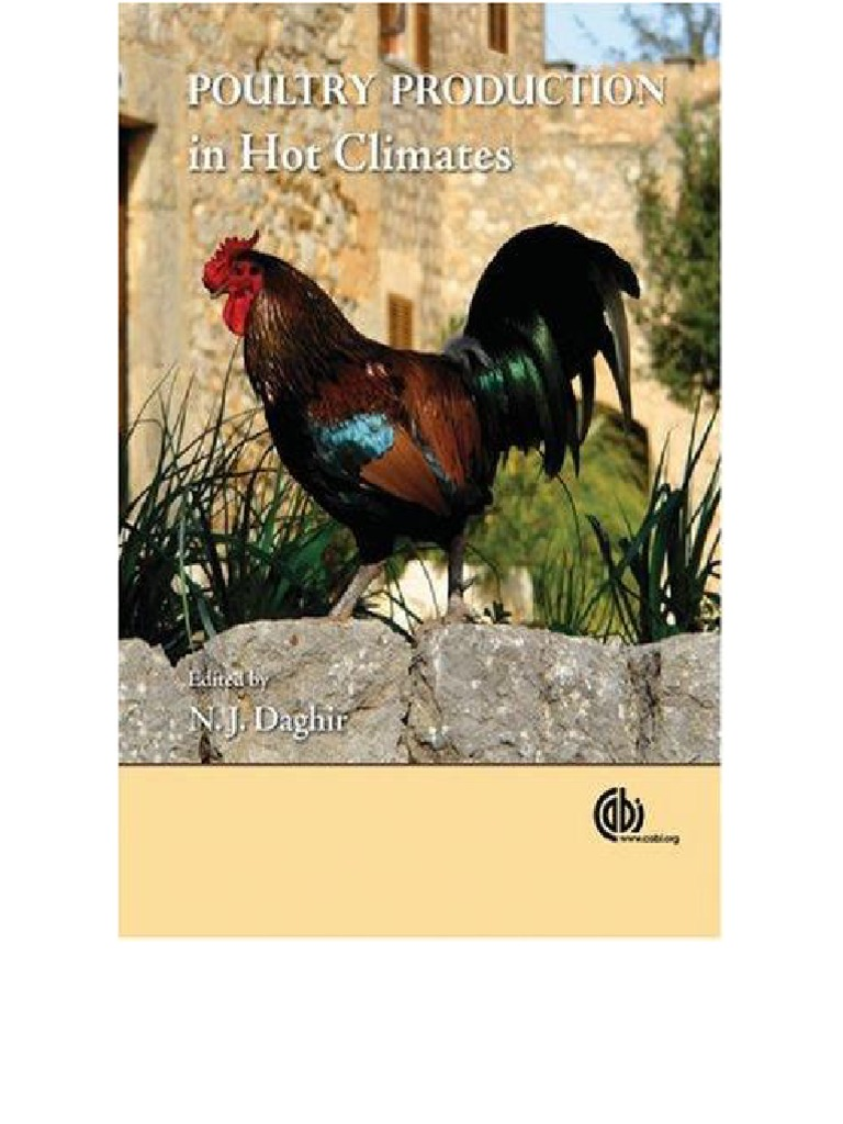 poultry production in climates meat chicken