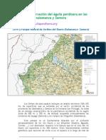 Plan de conservación del águila perdicera en las provincias de Salamanca y Zamora