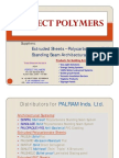 Perfect Polymers - Product-Introduction - SUNPAL Multiwall Cell) Polycarbonate Standing-Seam Architectural System