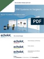 Open Source CRM im Vergleich - echolot digital worx