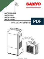 Sanyo SAP-P92Q5HK Repair Manual
