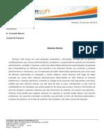 Presupuesto Administrativo Fernando Barreto