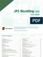 Worldship User Guide