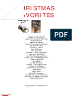 (eBooks) - Christmas Favourites Colection Sheet Music