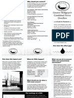 Greater Bridgeport Combined Sewer Overflow Guide for Residents