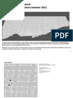 Toronto Drop-In Network Member Agency Brochure Summer 2011 - TDIN Brochure