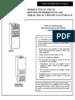 Furnace - Bryant Plus 80 Users Manual