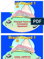 Brazil - Principal Terms of Concession Agreement