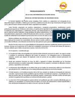 PRONUNCIAMIENTO PAC (CCSS)