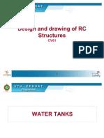 Design of Rectangular RC Tank