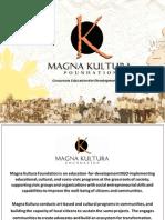 Magna Kultura Foundation Profile (Webpost)