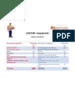 Costuri Estimative Comparative
