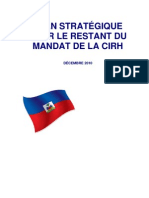 CIRH Plan Strategique Francais 2010.12.14