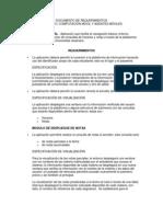 Documento de Requerimientos Proyecto Dispositivos Moviles