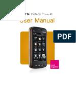 HTC TouchPro2 Manual