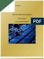 Growth Assesment