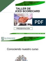 Ppt La Araucana Taller de Balanced Scorecard-1