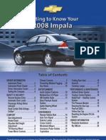 2008 Chevrolet Impala Getknow