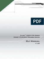 DGS-3100 Series CLI Manual v1.00