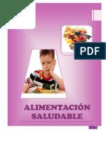 Plan de Charla Alimentacion Adecuada Escolar