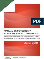 Immigrants Rights Manual - Spanish Translation