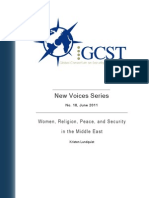 211 New Voices 18 - Women, Religion, Peace, And Security in the Middle East