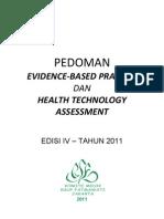 Dody Firmanda 2011 -  Komite Medik RSF - Pedoman Evidence-Based Practice (EBP) dan Health Technology Assessment (HTA)