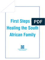 First Steps to Healing the South African Family Final Report Mar 2011